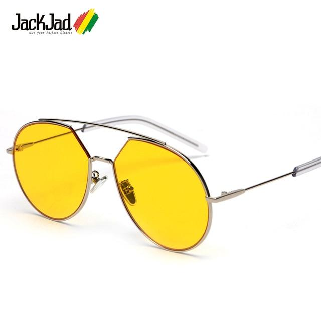 f9099bcac29 JackJad 2018 Popular Fashion Korean Z-1 Style Aviation Sunglasses Tint  Ocean Lens Brand Design Sun Glasses Oculos De Sol S31070