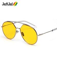 JackJad 2018 Popular Fashion Korean Z-1 Style Aviation Sunglasses