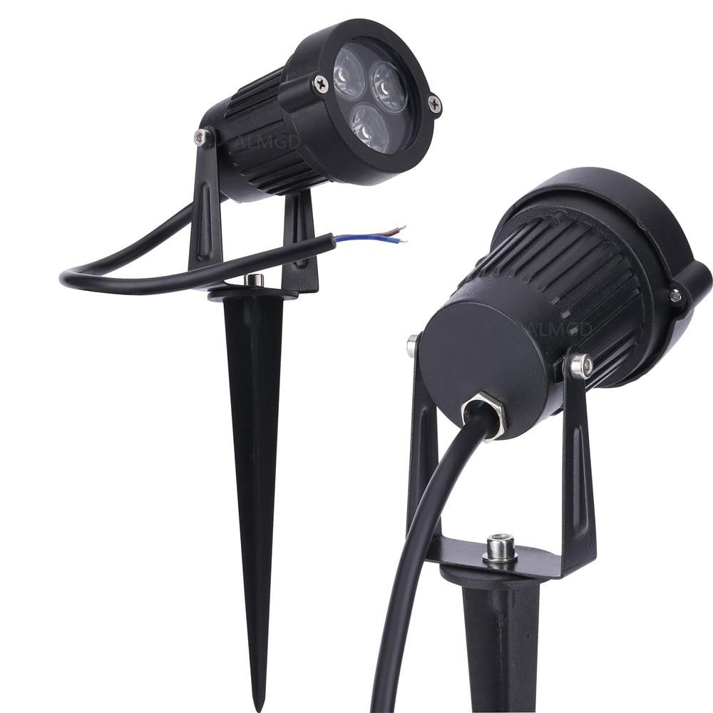 DC12V 24V Landscape Spot Light 3W 9W Waterproof Led Landscape Lamp Outdoor Garden  Light Spike Light