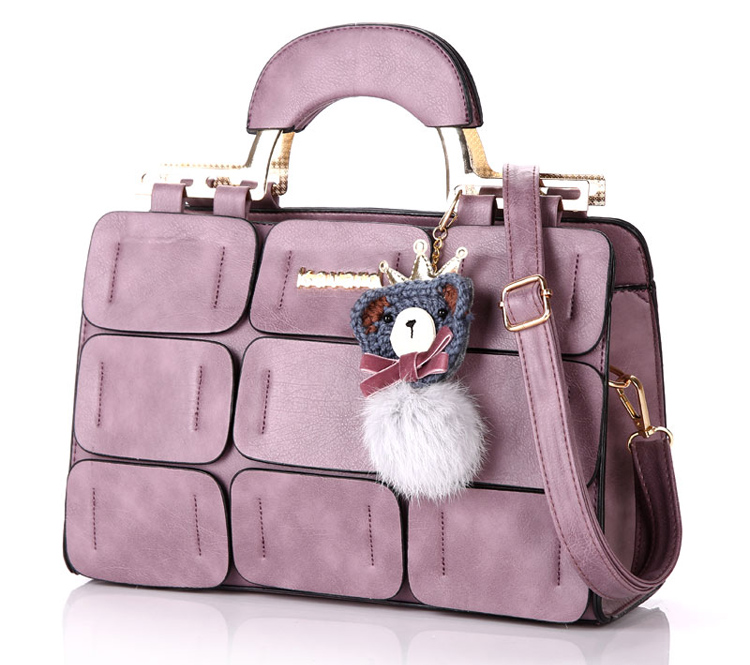 Fashion Luxury Designer Brand PU Leather Women Handbags