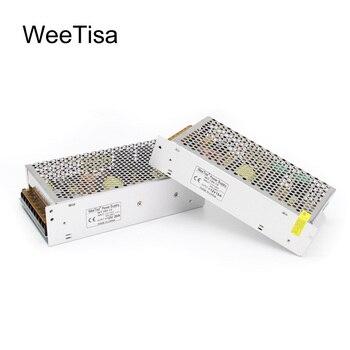 LED Driver 12 Volt Lighting Transformer Power Supply AC 110V 220V to DC 12V 2A 5A 10A 15A 20A 30A Adapter Switch for LED Strip ac 110v 220v to dc 5v 12v 24v 1a 2a 3a 5a 10a 15a 20a 30a 50a switch power supply driver adapter led strip light