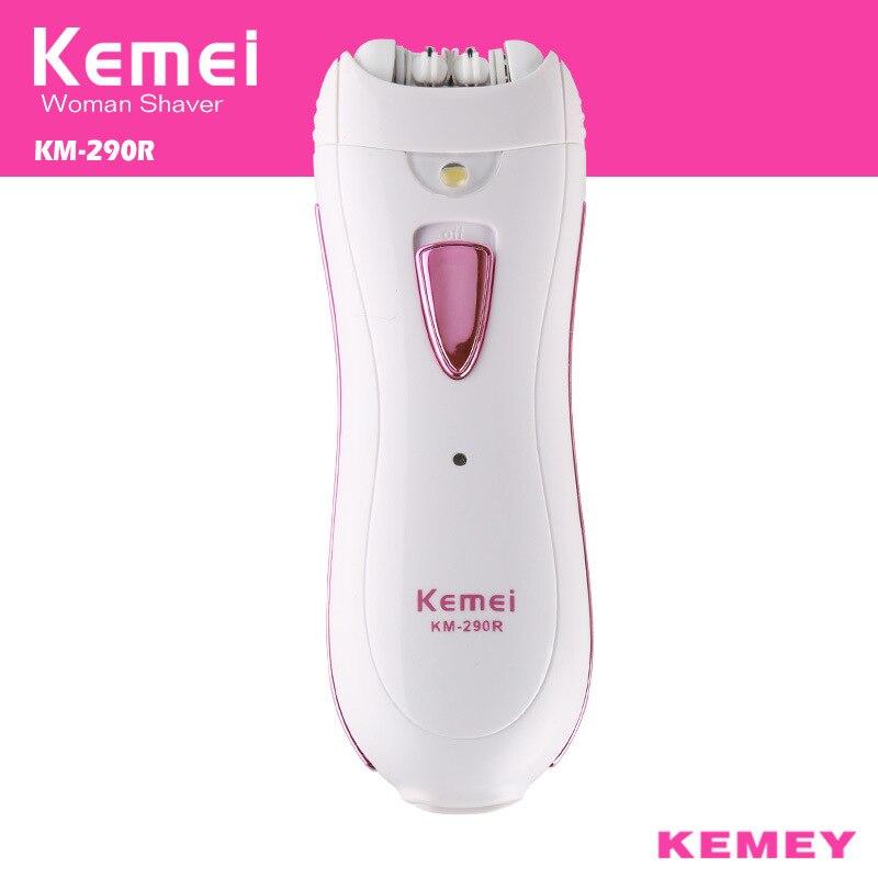 Kemei Professional Lady Depilacion Epilator Hair Remover Electric Female Depilatory for Women Leg Full Body Use