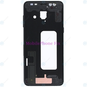 Image 5 - LCD Front Khung Trung Nhà Ở Bezel Chassis Cho Samsung Galaxy A8 2018 A530 Trở Lại Tấm Mặt Với Nút Bấm Bên Các Bộ Phận