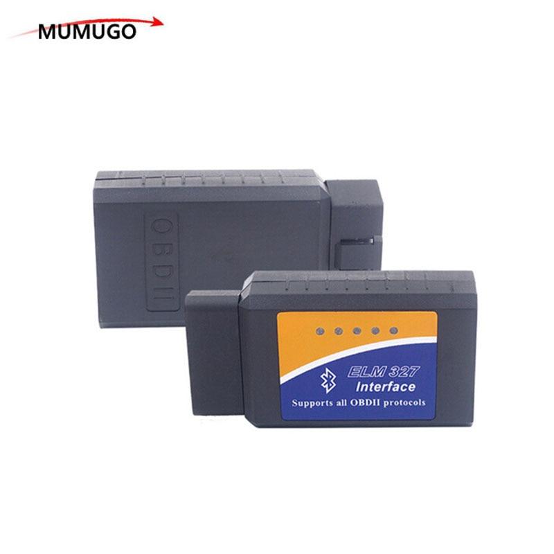 ELM327 V2.1 Bluetooth OBD2 ELM 327 V 2.1 OBDII Code Reader Diagnostic Tool Mini Scanner OBD 2 Auto Diagnostic-Tool