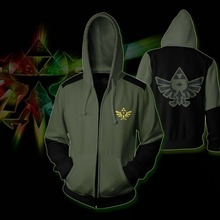 CostumeBuy Game The Legend of Zelda Sedar Cosplay Costume Adult Printing Hoodies