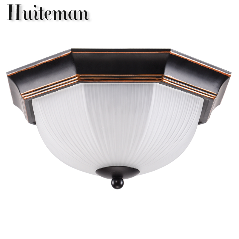 Huiteman Led Ceiling Lights Living Room Lamps Country Kids Bedroom Lamp Indoor Luminaria Home Decoration Bulbs Ceiling Lamps