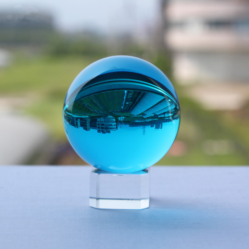 XINTOU Crystal Glass Photography Ball 50mm Feng Shui Globe Home Decoration Accessories Clear Lens Props Sphere Desk Decor toys