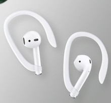 50 Đôi Bảo Vệ Earhooks An Toàn Phù Hợp Với Móc Tai Nghe Airpods Apple Không Dây Tai Nghe Chụp Tai Phụ Kiện Silicon Thể Thao Chống Mất Tai