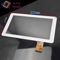 2 pces freelander pd50 pd60 9 polegada tela sensível ao toque capacitivo código de tela sensível ao toque: OPD-TPC0042 tamanho e cor de observação