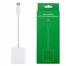 Micro USB To SD Card Reader OTG Digital Camera Data Cable For Android Phone PC #K400Y# DropShip