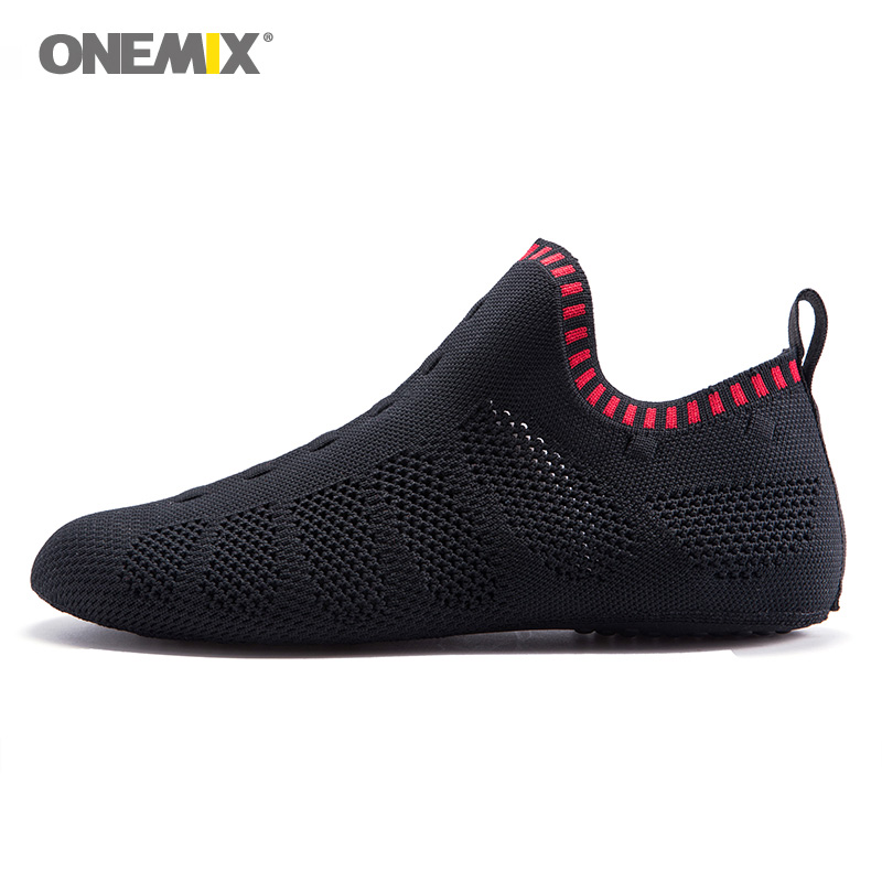 ONEMIX Men Yoga Sports Socks For Women Light Mesh Gym Dancing Fitness Shoes Indoor Walking Sneakers Martial Arts Karate Sandal 8 yoga socks half toe grip socks for workout fitness