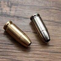 Bullet Head EDC Knife Lanyard Titanium Knife Beads Paracord Can Fits Tritium Tube Umbrella Rope Outdoor Parachute Cord Gadget