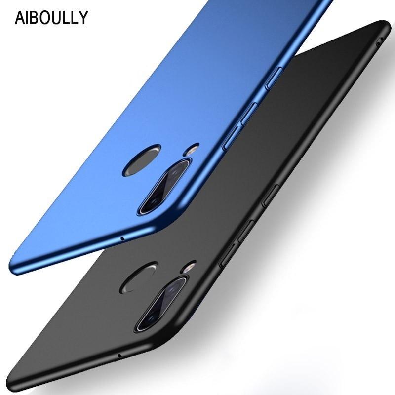 Buy Slim 360 Full Cover For Huawei P20 Lite Case Luxury PC Hard Matte Back Cover On P 20 Pro Plus P20lite Nova 3e 3 E Phone Cases for only 3.98 USD