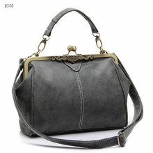 Realer Brand New Vintage Retro PU Tote Bag Women Messenger Bags Small Ladies Shoulder Bag Free Shipping