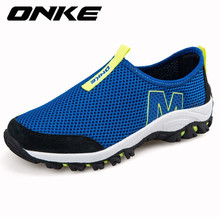 ONKE Breathable Mesh Running Shoes for Men Sneakers 2017 Male Footwear zapatillas hombre Summer Mens Running Sports masculino
