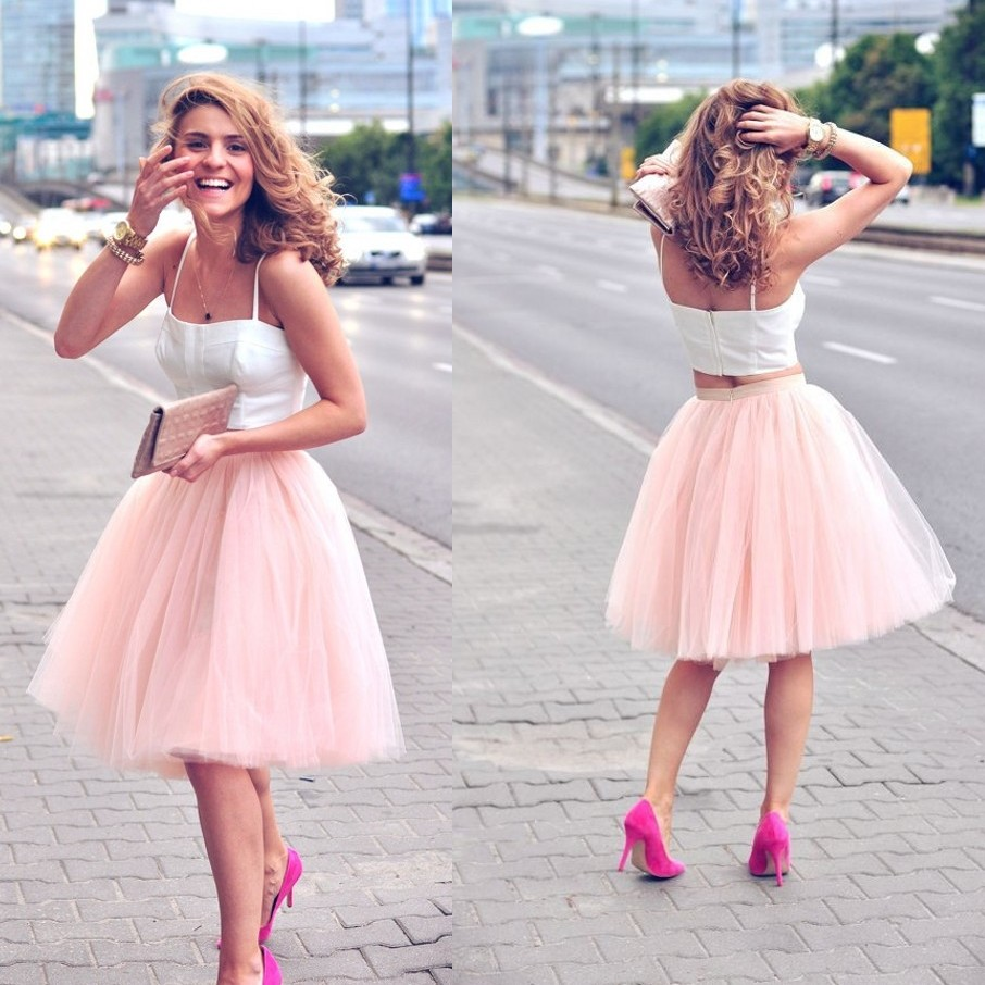 pink skirt short jupe femme all size and colors available tulle skirts cheap tutu skirt girls. Black Bedroom Furniture Sets. Home Design Ideas
