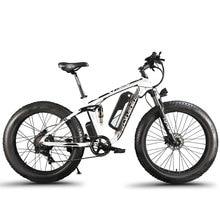 Cyrusher XF800 Электрический велосипед двойная подвеска 7 скоростей, шина электронного велосипеда, 1000 Вт 48 В, умный компьютер Спидометр Электрический велосипед