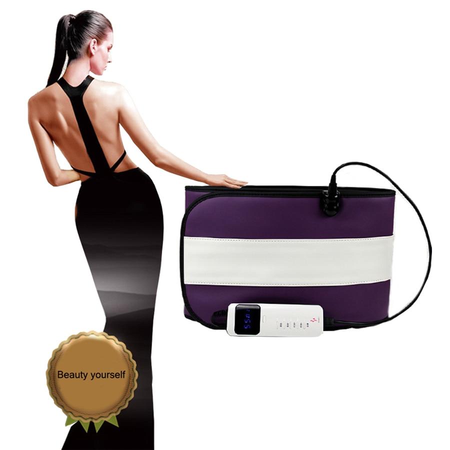Far infrared Electric vibration heating massage Slimming belt Burn Fat Weight Loss fat shaping burning abdomen