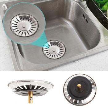 Kuchnia umywalka ze stali nierdzewnej umywalka dolant zlew kosz sitowy filtr odpadów tanie i dobre opinie OOTDTY Bez kran Other ROUND