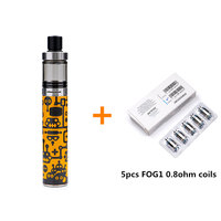 Original Justfog FOG1 Kit Anti Spit Protection Shield With1500mAh Battery 2ml Tank Capacity Electronic Cigarette All