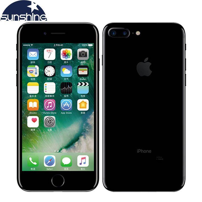 unlocked original apple iphone 7 iphone 7 plus quad core mobile phone 12 0mp camera 32g 128g. Black Bedroom Furniture Sets. Home Design Ideas
