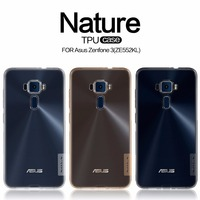 Asus Zenfone 3 ZE552KL Case TPU Back Cover NILLKIN Nature Clear TPU Transparent Soft Case Luxury