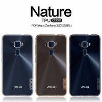 Asus Zenfone 3 ZE552KL Case TPU Back Cover NILLKIN Nature Clear TPU Transparent Soft Case Luxury