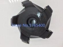 New 1pcs 5flute KM12-100-32 100MM 45Degree Face End Milling Cutter CNC