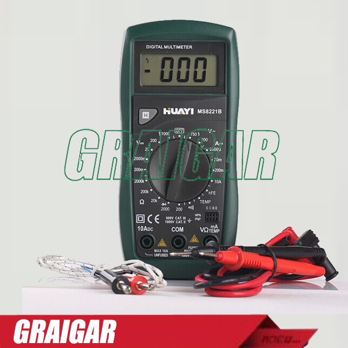 MS8221B Electrical Instrument Test Voltage Digital Multimeter