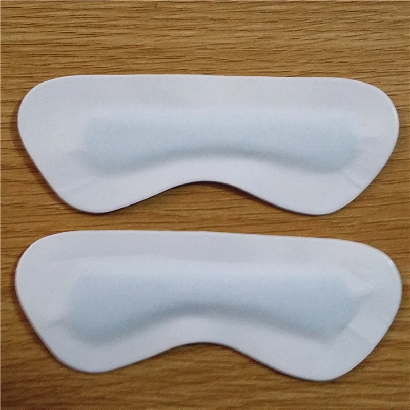 1Pair Foot Care Imitation Leather Heel Protectors Pain Back Heel Pad  Anti-wear Heel Pad For Leather Shoes