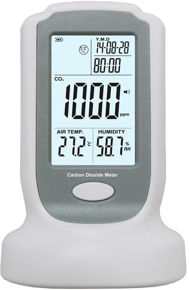 Industrie Tragbare Kohlendioxid detektor 0 2000ppm Marke Präzise Kontinuierliche Online CO2 Erkennung Tester Ndir co2 gassensor-in Gasanalysatoren aus Werkzeug bei AliExpress - 11.11_Doppel-11Tag der Singles 1