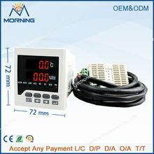 WSK302 размер кадра 72*72 мм СВЕТОДИОДНЫЙ Цифровой дисплей Температуры и влажности Контроллер