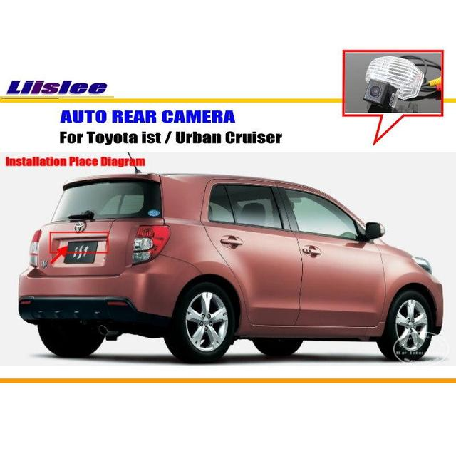 Liislee car parking camera reverse camera for toyota ist urban liislee car parking camera reverse camera for toyota ist urban cruiser rear view sciox Gallery