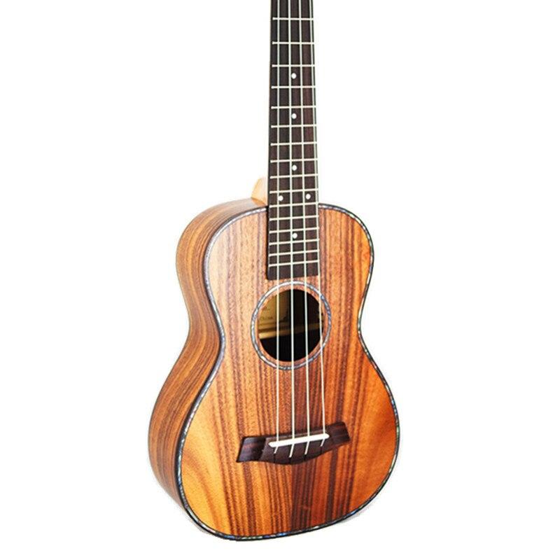 Concert ukulélé 23 acoustique petite guitare 4 cordes KOA doux Acacia Uke palissandre Fretboard électrique Ukelele avec ramassage EQ - 6