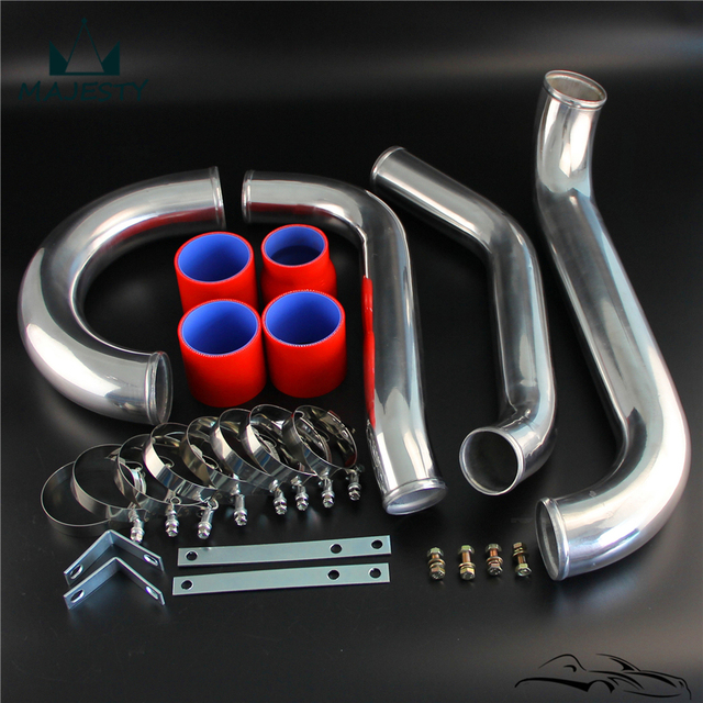 US $62 84 5% OFF Turbo Intercooler Piping Couplers Kit Fits For T*oyota  S*upra J*ZA80 2*JZ G*TE 93 98 RED on Aliexpress com   Alibaba Group