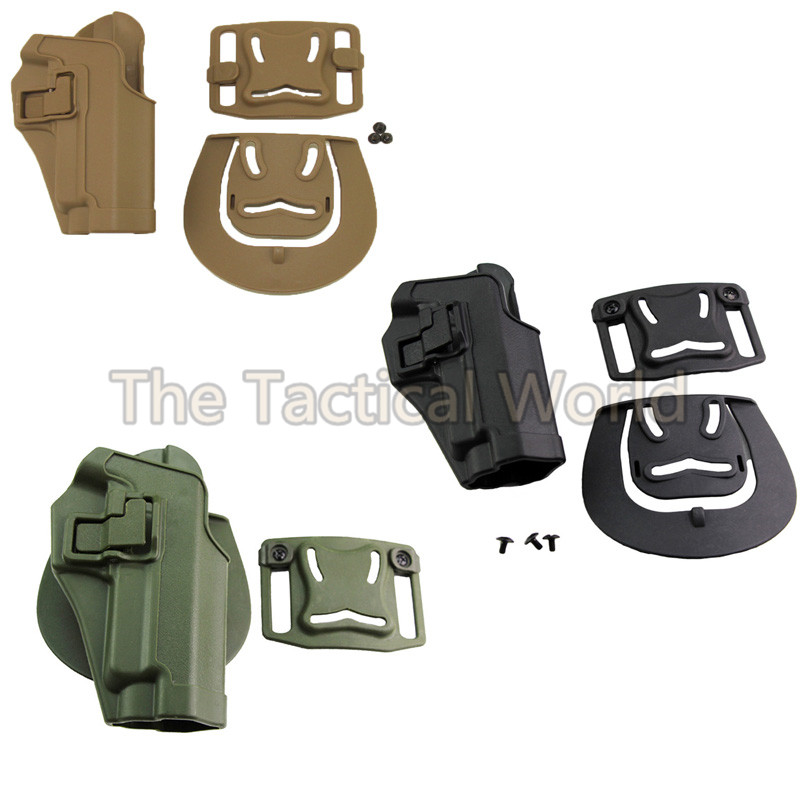Tactical Outdoor Hunting Black Green Tan CQC Holster Sig Sauer P226 P220 P228 P229 Holsters Combat Army Airsoft Accessories Gear