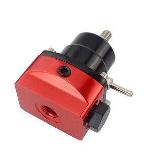 Image 3 - Vr preto & vermelho universal fpr an6 montagem efi regulador de pressão de combustível para 7 mgte mkii com linha de mangueira. fittings. gauge vr7842bkrd