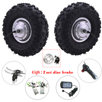 Double Drive Electric Bicycle Motor Wheel 14.5'' 48v 350w 800w bicicleta electrica motor Conversion Kit Bicycle Accessory