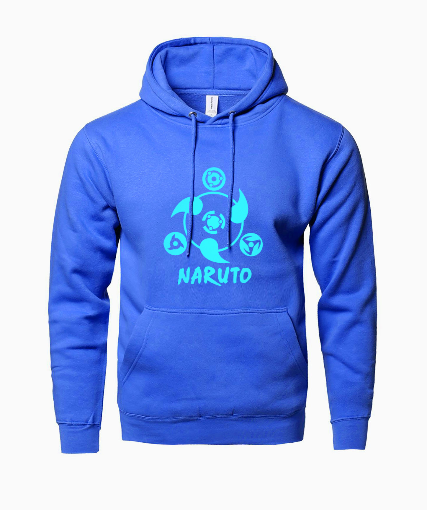 2019 Hot Sale Casual Sportes Hoodies Anime NARUTO Luminous Print Pullover Sweatshirts Crossfit Fitness Men Personalized Hoody