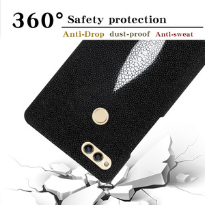 Image 3 - Custom pearl leather phone case For HUAWEI honor 7X case pearl half pack mobile phone case mobile phone case For HUAWEI Honor 10