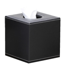 Household leather square tissue box roll paper tube washouts pumping fashion