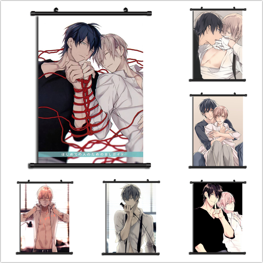 Ten Count 10 count Anime Manga Wall Poster Scroll Home Decoration Wall Art title=