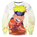 Classic Anime Naruto The Ninja Way Sweatshirt 3D Digital printing casual Men Women Long Sleeve Outerwear Crewneck Pullovers