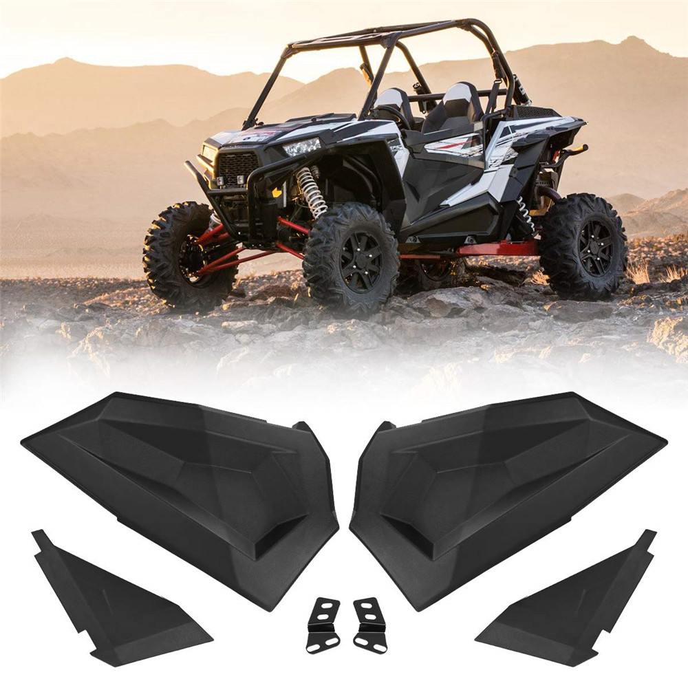 Half Lower Door Inserts Panels 2-Seat For Polaris RZR S XP 1000 TURBO 2014-2019 2015 2016 2017 2018