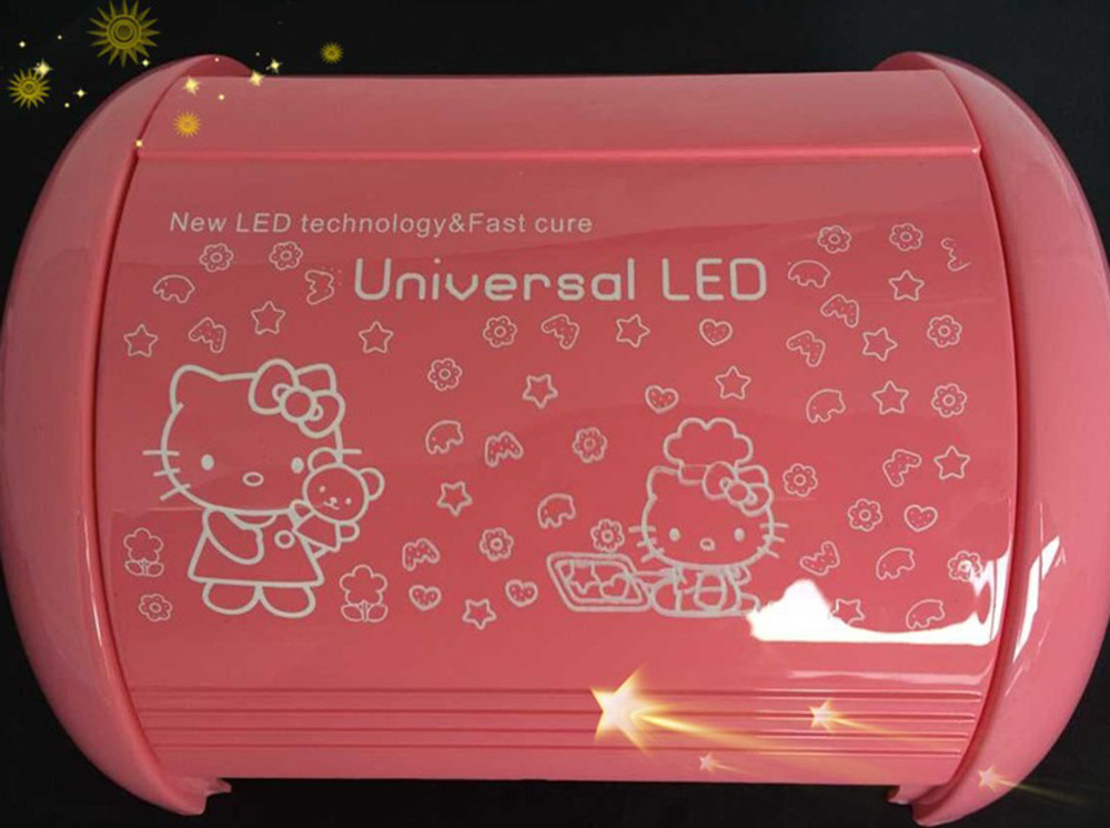 Hello Kitty New Arrival Pro24 PCS LED Lamp Nail Dryer Long Life 66W LED Lamp Curing for All Gel Nails Polish Nail Art Tools