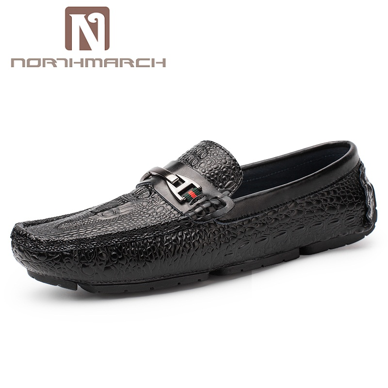 NORTHMARCH Summer Breathable Casual Shoes Men Soft Moccasins Male Loafers Shoes For Men Flats Slip On Driving Shoes Footwear пилка dewal прямая белая 180 180 18 см
