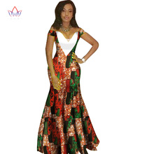 2018 african dresses for women Fashion Design dashiki women bazin riche  V-neck long dress dashiki plus size regular 6xl WY1231 99f97a3aa03a