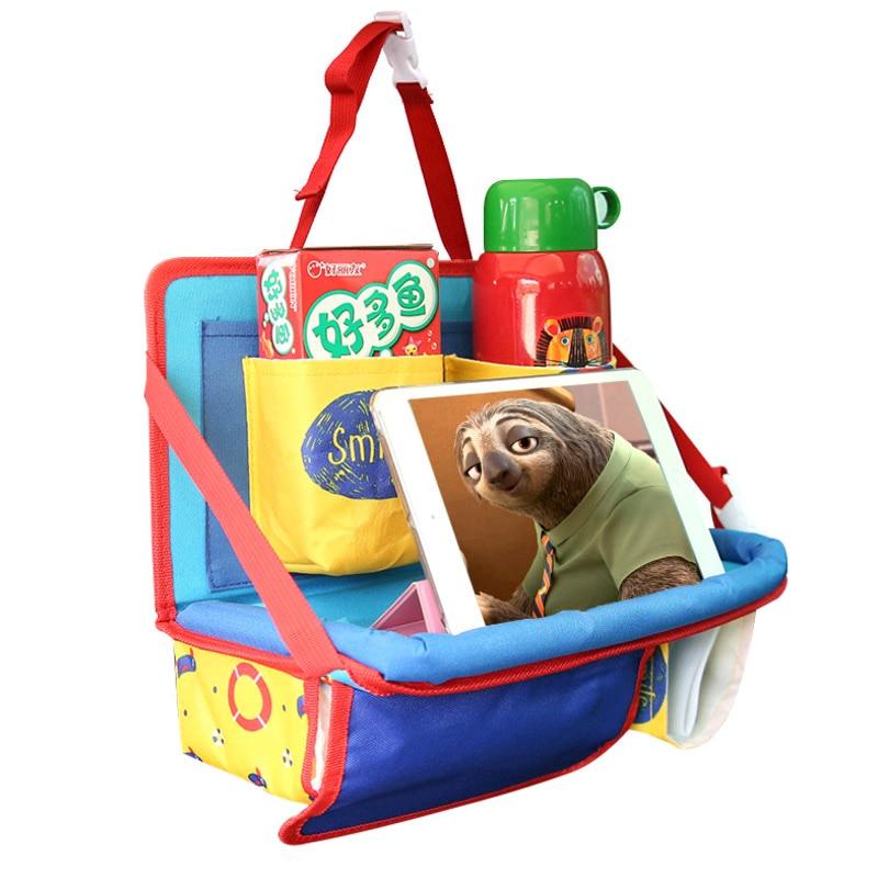Strollers Accessories Mother & Kids Universal Baby Car Hanging Basket Storage Bag Car Seat Back Organizer With Tablet Holder Travel Storage Bagstroller Accessories