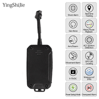 Portable Mini GPS Tracker For Dog Cat Pets Kids Lderly Person Car Located Preciously By GPS