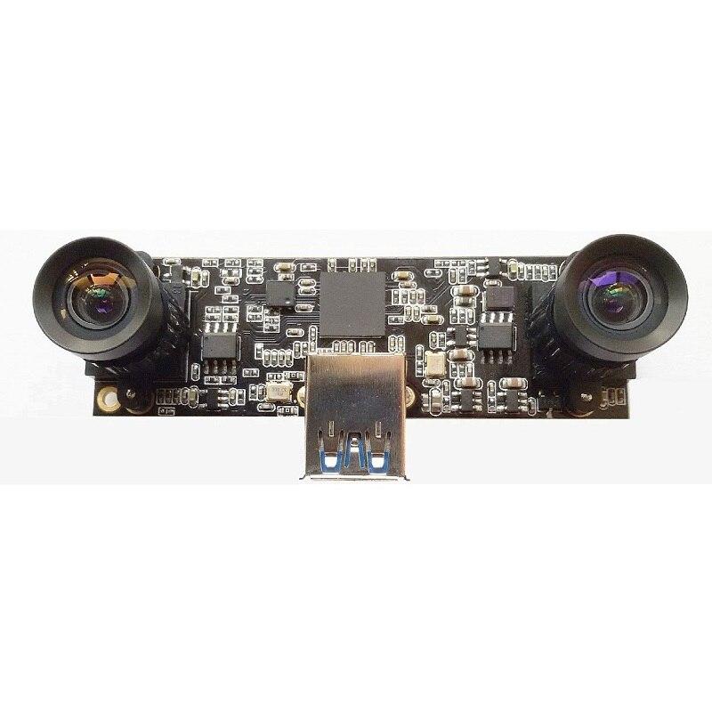 Fixed Baseline USB3.0 Binocular Vision Camera 3D Stereo